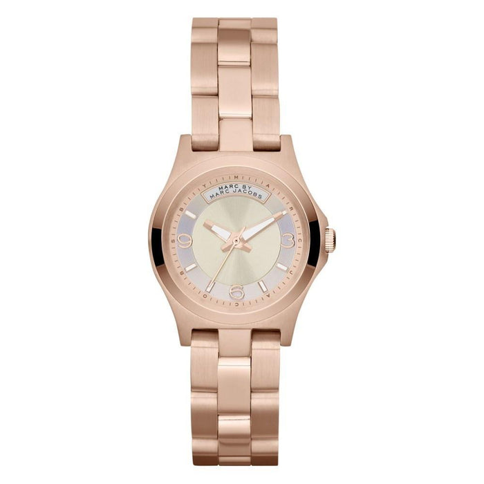 Marc Jacobs Women's MBM3235 Dave Rose-Tone Stainless Steel Watch