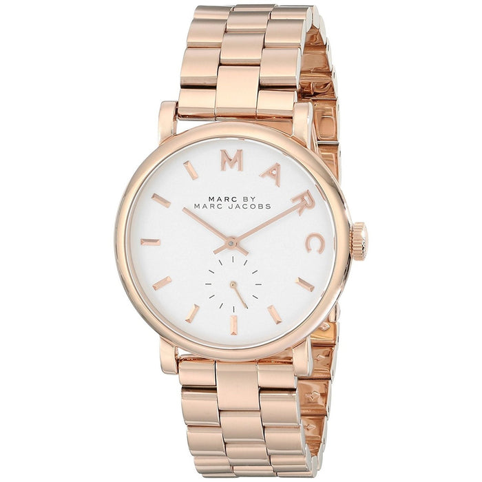 Marc Jacobs Women's MBM3244 Baker Rose-Tone Stainless Steel Watch