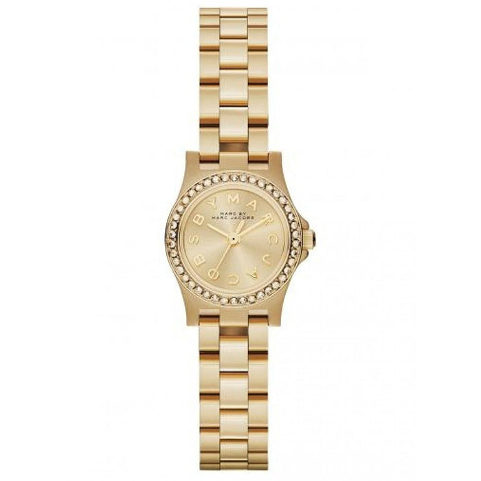 Marc Jacobs Women's MBM3277 Amy Crystal Gold-Tone Stainless Steel Watch