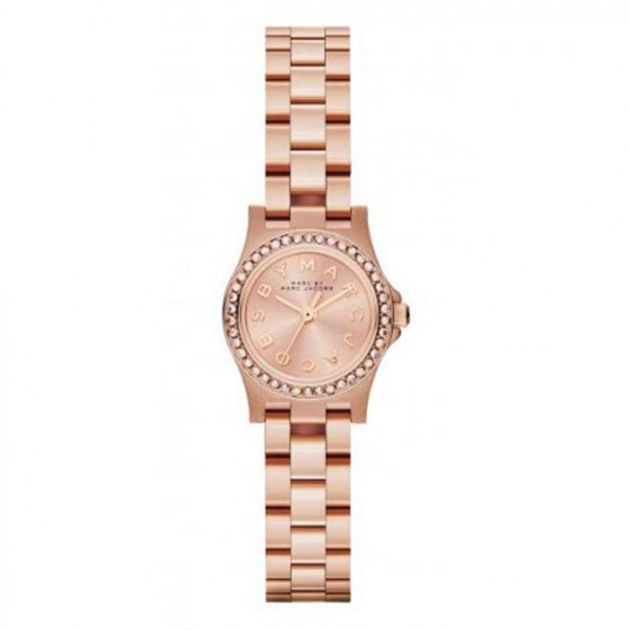 Marc Jacobs Women's MBM3278 Amy Crystal Rose-Tone Stainless Steel Watch