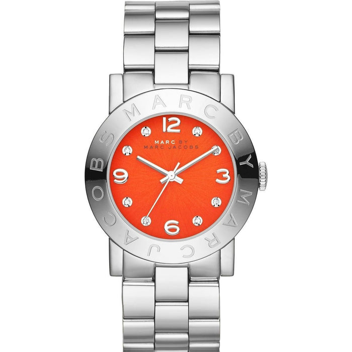 Marc Jacobs Women's MBM3302 Amy Crystal Stainless Steel Watch