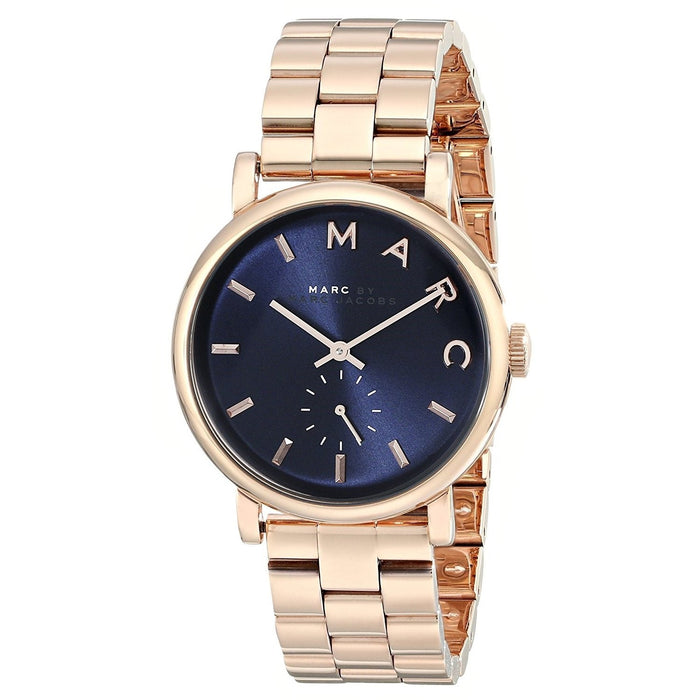 Marc Jacobs Women's MBM3330 Baker Rose-Tone Stainless Steel Watch