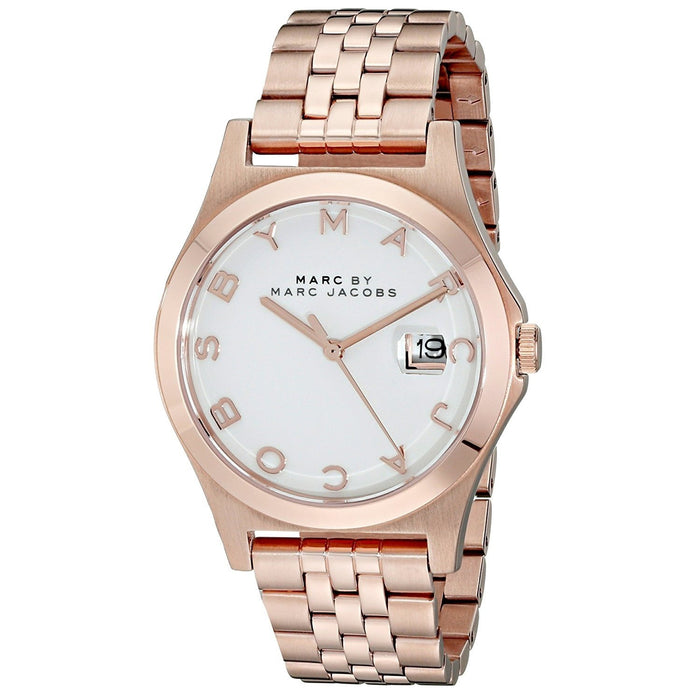 Marc Jacobs Women's MBM3392 Slim Rose-Tone Stainless Steel Watch