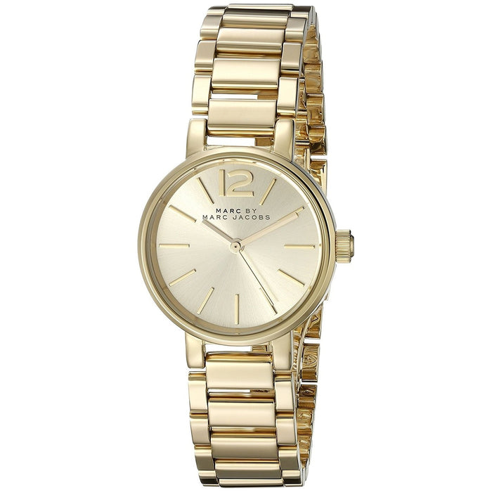 Marc Jacobs Women's MBM3405 Peggy Gold-Tone Stainless Steel Watch
