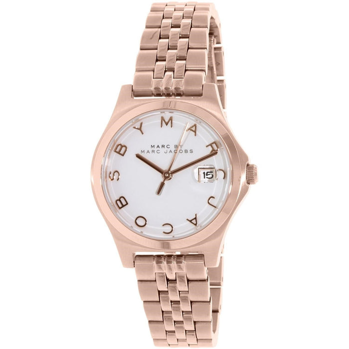 Marc Jacobs Women's MBM3411 Slim Rose-Tone Stainless Steel Watch