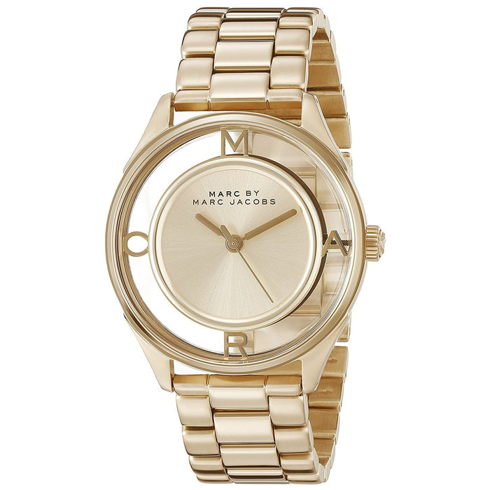 Marc Jacobs Women's MBM3413 Thether Gold-Tone Stainless Steel Watch