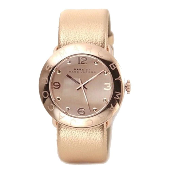Marc Jacobs Women's MBM8628 Amy Rose-Tone Stainless Steel Watch