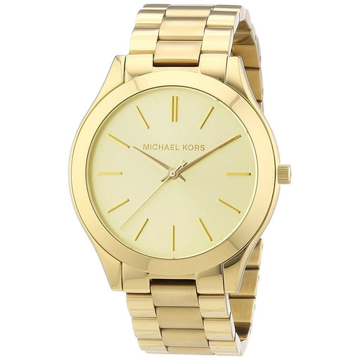 Michael Kors Women's MK3179 Runway Gold-Tone Stainless Steel Watch