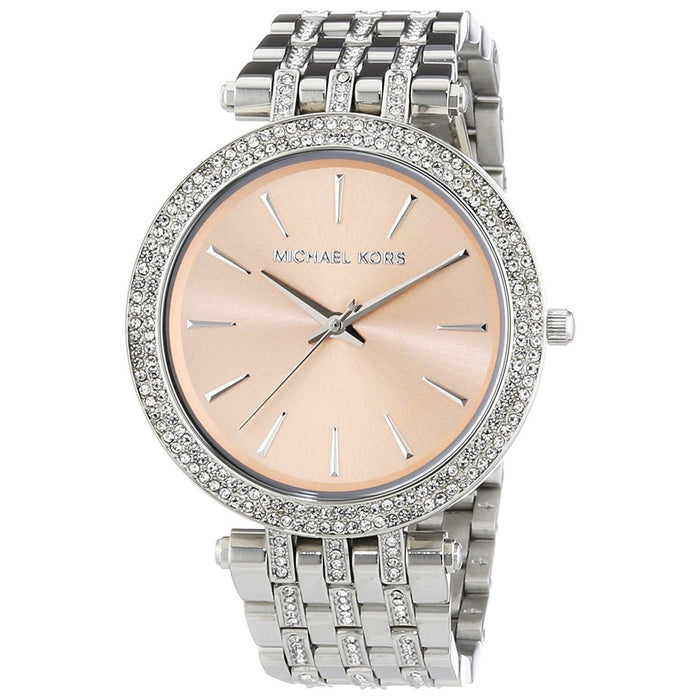Michael Kors Women's MK3218 Darci Crystal Stainless Steel Watch