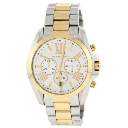 Michael Kors Women's MK5627 Bradshaw Chronograph Two-Tone Stainless Steel Watch