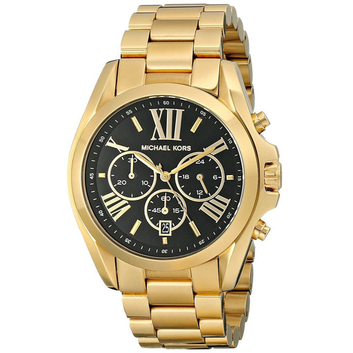 Michael Kors Women's MK5739 Bradshaw Chronograph Gold-Tone Stainless Steel Watch