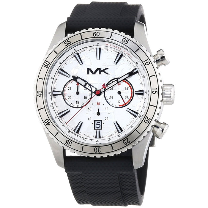 Michael Kors Men's MK8353 Richardson Chronograph Black Silicone Watch