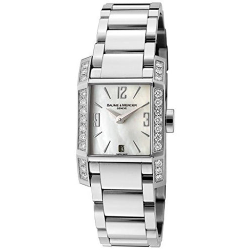 Baume & Mercier Women's MOA08666 Diamant Diamond Stainless Steel Watch