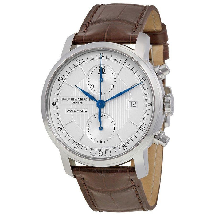 Baume & Mercier Men's MOA08692 Classima Executives Chronograph Automatic Brown Leather Watch