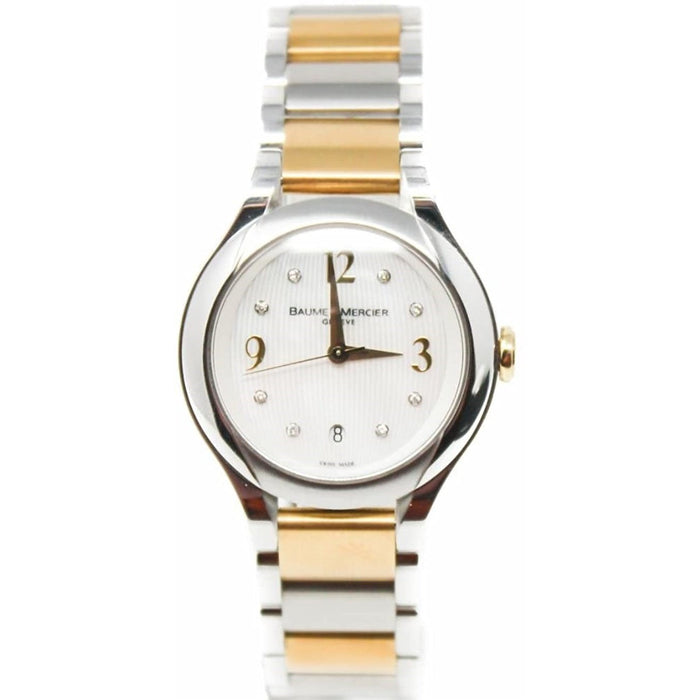 Baume & Mercier Women's MOA08774 Ilea Two-Tone 18kt Gold and Stainless Steel Watch