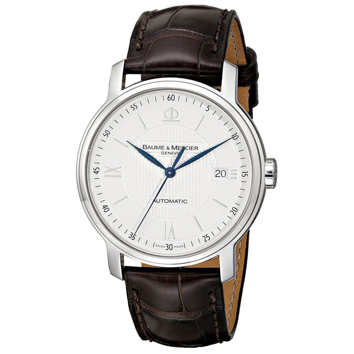 Baume & Mercier Men's MOA08791 Classima Automatic Brown Leather Watch