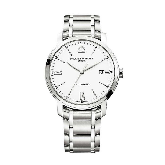 Baume & Mercier Men's MOA08836 Classima Executives Stainless Steel Watch