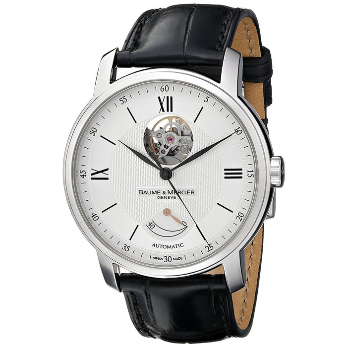 Baume & Mercier Men's MOA08869 Classima Automatic Black Leather Watch