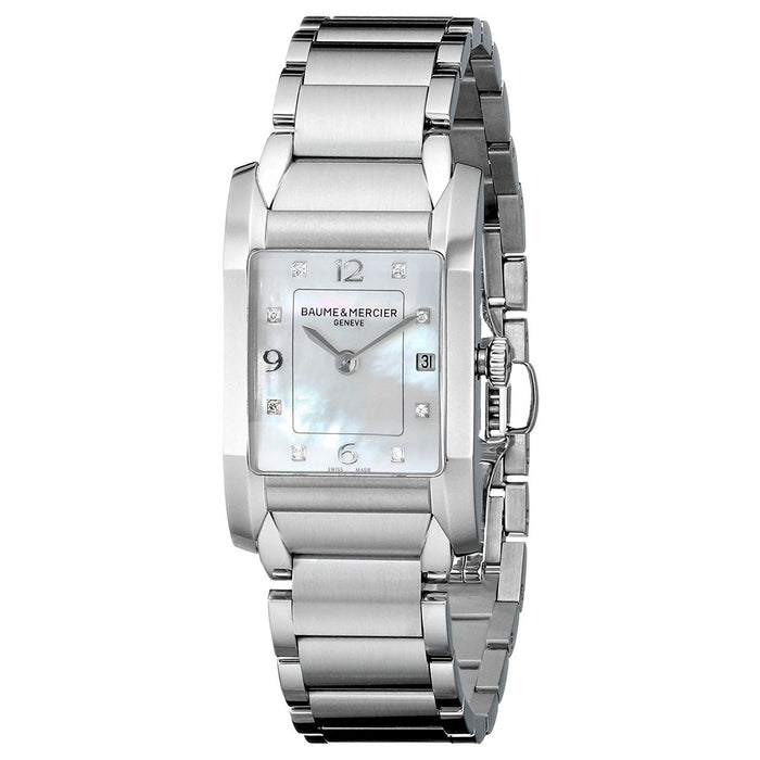 Baume & Mercier Women's MOA10050 Hampton Diamond Stainless Steel Watch