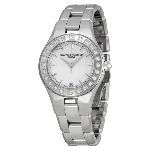 Baume & Mercier Women's MOA10072 Linea Stainless Steel Watch