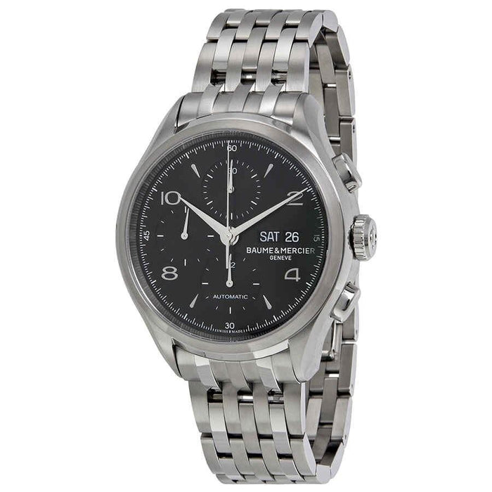 Baume & Mercier Men's MOA10212 Clifton Chronograph Stainless Steel Watch