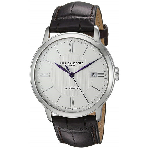 Baume & Mercier Men's MOA10214 Classima Brown Leather Watch