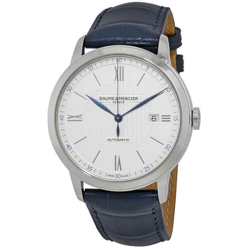 Baume & Mercier Men's MOA10333 Classima Blue Leather Watch