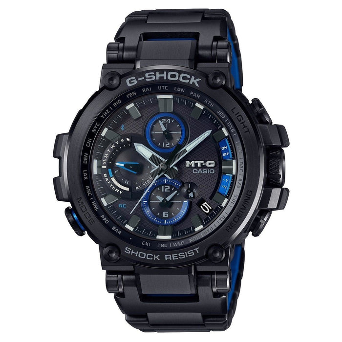 Casio Men's MTGB1000BD-1A G-Shock Chronograph Black Stainless Steel Watch