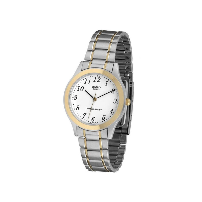 Casio Men's MTP-1128G-7B Classic Two-Tone Stainless Steel Watch