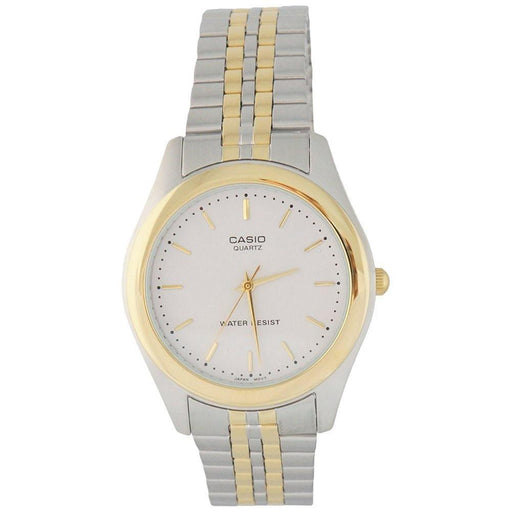 Casio Men's MTP-1129G-7A Classic Two-Tone Stainless Steel Watch