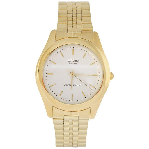 Casio Men's MTP-1129N-7A Classic Gold-Tone Stainless Steel Watch