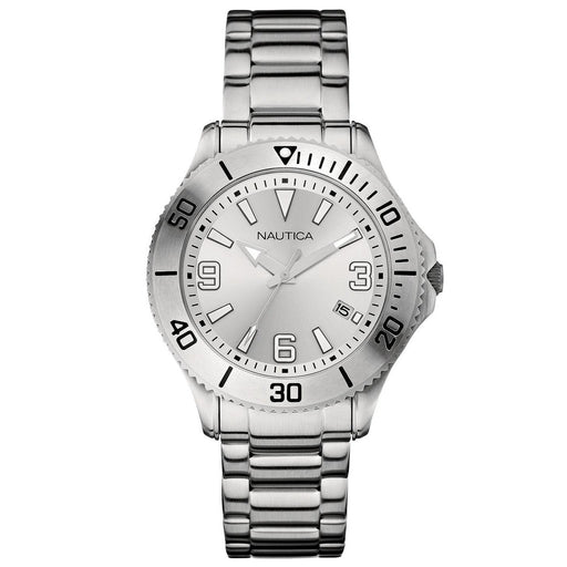 Nautica Men's N11577G NAC Stainless Steel Watch