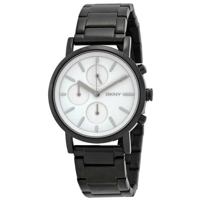 DKNY Women's NY2149 Soho Chronograph Black Stainless Steel Watch