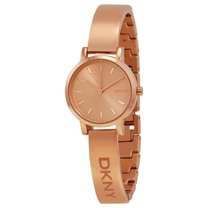 DKNY Women's NY2308 Soho Rose-Tone Stainless Steel Watch