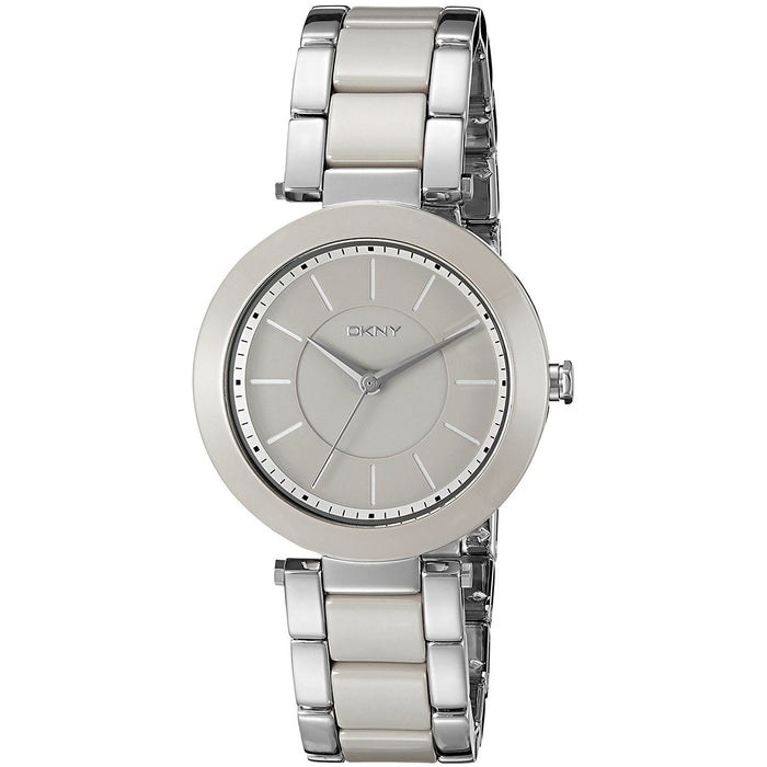 DKNY Women's NY2462 Stanhope Two-Tone Stainless steel and Ceramic Watch