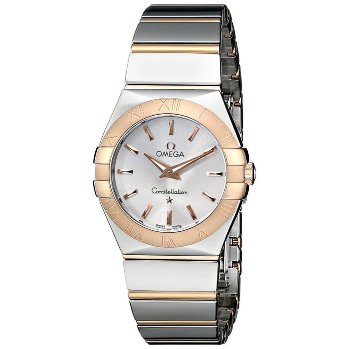 Omega Women's O12320276002003 Constellation 18kt Rose Gold Two-Tone Stainless Steel Watch