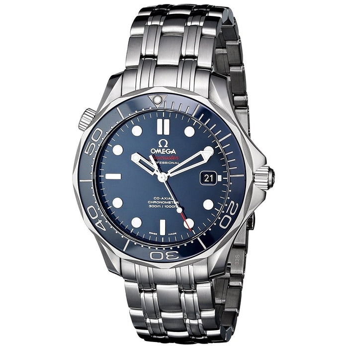 Omega Men's O21230412003001 Seamaster Automatic Stainless Steel Watch