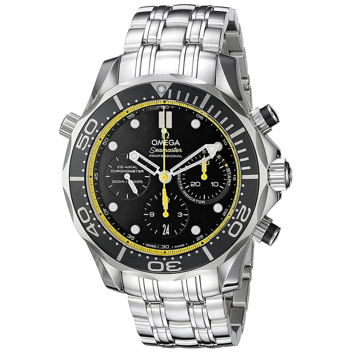 Omega Men's O21230445001002 Seamaster Chronograph Automatic Stainless Steel Watch