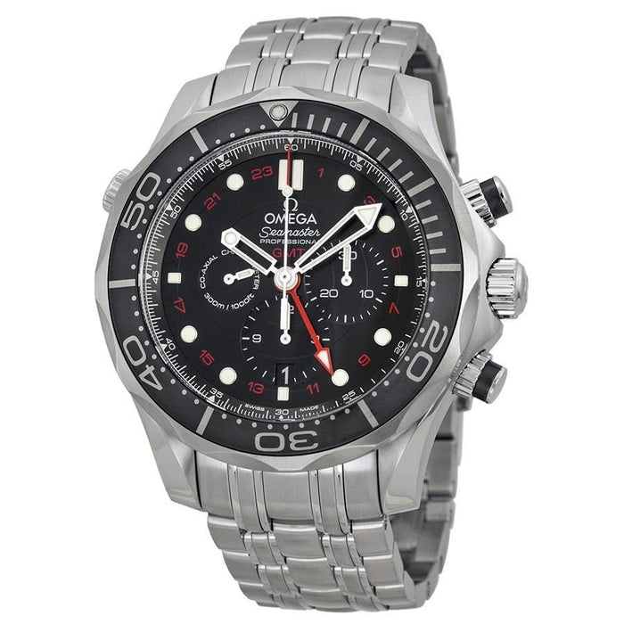 Omega Men's O21230445201001 Seamaster Diver Chronograph Automatic Stainless Steel Watch