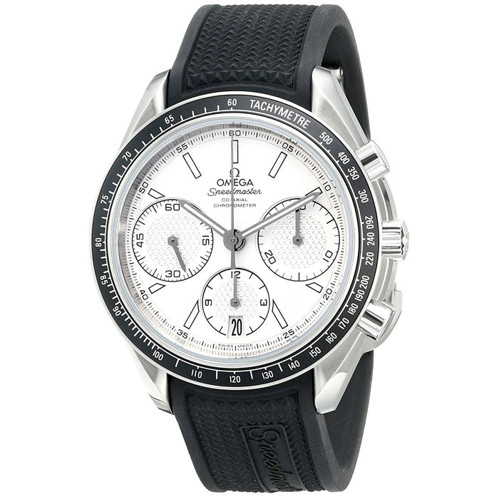 Omega Men's O32632405002001 Speedmaster Chronograph Automatic Black Rubber Watch