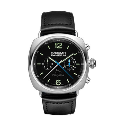 Panerai Men's PAM00343 Radiomir Automatic Chronograph Black Leather Watch