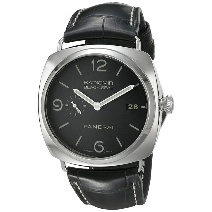 Panerai Men's PAM00388 Radiomir Black Seal Acciaio 3 Days Automatic Black Leather Watch