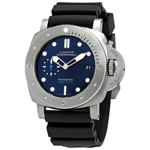 Panerai Men's PAM00692 Submersible BMG-TECH Black Rubber Watch