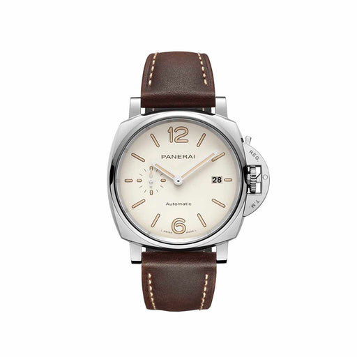 Panerai Men's PAM01046 Luminor Due Brown Leather Watch