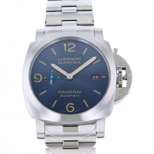 Panerai Men's PAM01058 Luminor Marina Stainless Steel Watch