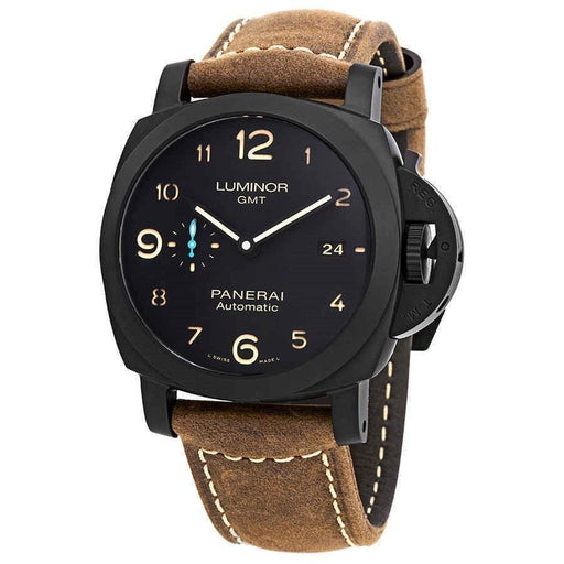 Panerai Men's PAM01441 Luminor 1950 Brown Leather Watch