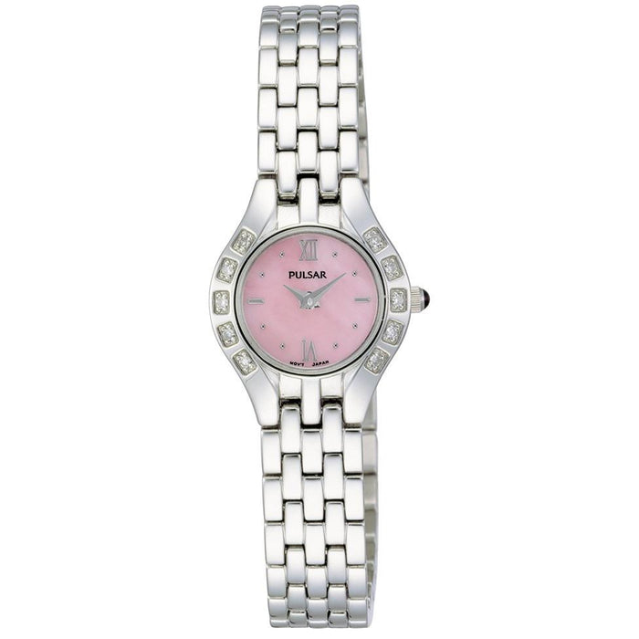 Pulsar Women's PEG665 Crystal Automatic Stainless Steel Watch