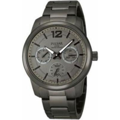 Pulsar Women's PP6061 Multi-Function Grey Stainless Steel Watch