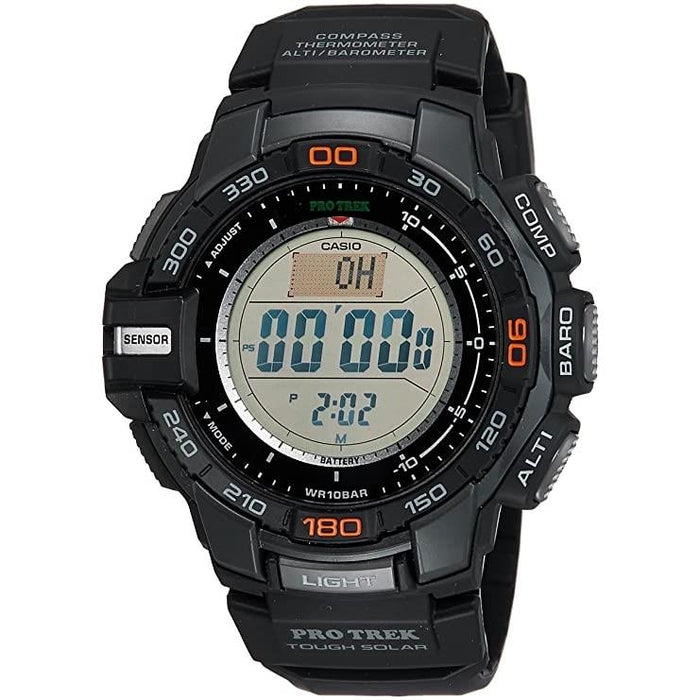 Casio Men's PRG270-1 Pro Trek Black Resin Watch