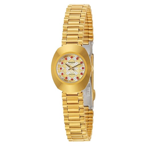 Rado Women's R12559193 Original Diamond Gold-Tone Stainless Steel Watch